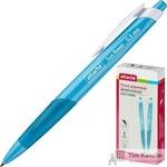 Ручка шариковая автоматическая Attache Sun Flower синяя (толщина линии 0.5 мм)