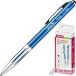 Ручка шариковая автоматическая Attache Exotic синяя (толщина линии 0.5 мм)