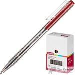 Ручка шариковая автоматическая Attache Bo-bo красная (толщина линии 0.5 мм)