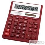 Калькулятор настольный Citizen SDC-888XRD 12-разрядный бордовый