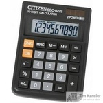 Калькулятор настольный Citizen SDC-022S 10-разрядный черный