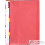 Папка файловая на 20 файлов Attache Diagonal красная