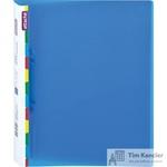 Папка на 2-х кольцах Attache Diagonal пластиковая 25 мм синяя