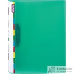 Папка с зажимом Attache Diagonal А4 0.6 мм зеленая (до 150 листов)
