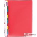 Папка-скоросшиватель с пружинным механизмом Attache Diagonal А4 красная 0.6 мм