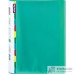 Папка файловая на 20 файлов Attache Diagonal зеленая