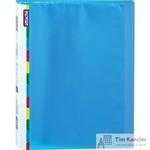 Папка файловая на 20 файлов Attache Diagonal синяя