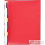Папка на 2-х кольцах Attache Diagonal пластиковая 25 мм красная