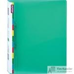 Папка на 2-х кольцах Attache Diagonal пластиковая 25 мм зеленая