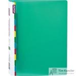 Папка-скоросшиватель с пружинным механизмом Attache Diagonal А4 зеленая 0.6 мм