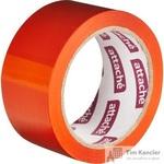 Клейкая лента упаковочная Attache оранжевая 48 мм x 66 м толщина 45 мкм