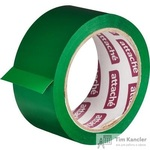 Клейкая лента упаковочная Attache зеленая 48 мм x 66 м толщина 45 мкм