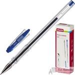Ручка гелевая Attache City синяя (толщина линии 0.5 мм)