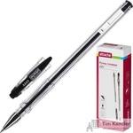 Ручка гелевая Attache City черная (толщина линии 0.5 мм)