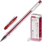 Ручка гелевая Attache City красная (толщина линии 0.5 мм)