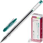 Ручка гелевая Attache City зеленая (толщина линии 0.5 мм)