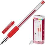 Ручка гелевая Attache Town красная (толщина линии 0.5 мм)