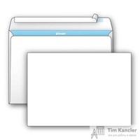 Конверт почтовый Комус C4 (229x324 мм) белый удаляемая лента (250 штук в упаковке)