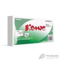 Конверт почтовый Комус E65 (110x220 мм) белый удаляемая лента (100 штук в упаковке)