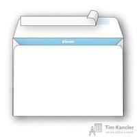 Конверт почтовый Комус С6 (114x162 мм) белый удаляемая лента (1000 штук в упаковке)