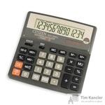 Калькулятор настольный Citizen SDC-640 II 14-разрядный темно-серый