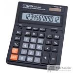 Калькулятор настольный Citizen SDC-444S 12-разрядный черный