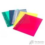 Папка-скоросшиватель Комус А4 10 штук в упаковке (толщина обложки 0.18 мм)