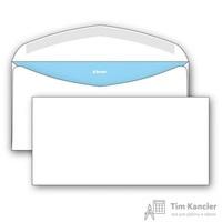Конверт почтовый Комус E65 (110x220 мм) белый с клеем автомат (1000 штук в упаковке)