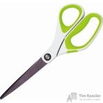 Ножницы Scotch 200 мм с пластиковыми прорезиненными анатомическими ручками салатового/белого цвета
