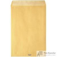 Пакет почтовый Largepack B4 из крафт-бумаги с расширением стрип 250х353 мм (120г/кв.м, 200 штук в упаковке)