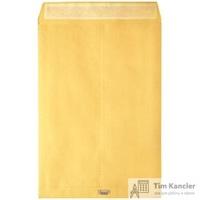 Пакет почтовый Largepack E4 из крафт-бумаги с расширением стрип 300x400 мм (120г/кв.м, 200 штук в упаковке)