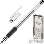 Ручка гелевая Crown HJR-500R черная (толщина линии 0.5 мм)