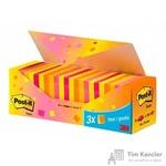 Стикеры Post-it Original 76x76 мм неоновые 5 цветов (24 блока по 100 листов)