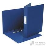 Папка на 2-х кольцах Bantex картонная/пластиковая 35 мм темно-синяя
