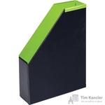 Вертикальный накопитель Bantex Модерн картонный зеленый ширина 70 мм