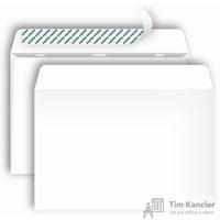 Конверт почтовый Postfix Bong C4 (229x324 мм) белый удаляемая лента (250 штук в упаковке)