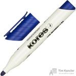 Маркер для досок Kores 20833 синий (толщина линии 3 мм)