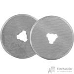 Запасные лезвия для промышленного ножа круглые 28 мм (3 штуки в упаковке)
