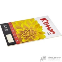 Бумага цветная для офисной техники Комус Color слоновая кость пастель (А4, 80 г/кв.м, 50 листов)