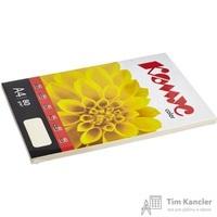 Бумага цветная для офисной техники Комус Color слоновая кость пастель (А4, 80 г/кв.м, 100 листов)