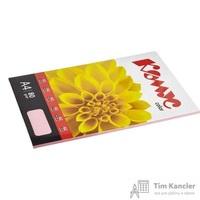 Бумага цветная для офисной техники Комус Color розовая пастель (А4, 80 г/кв.м, 50 листов)