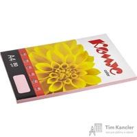 Бумага цветная для офисной техники Комус Color розовая пастель (А4, 80 г/кв.м, 100 листов)