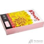 Бумага цветная для офисной техники Комус Color розовая пастель (А4, 80 г/кв.м, 500 листов)