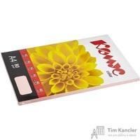 Бумага цветная для офисной техники Комус Color роза пастель (А4, 80 г/кв.м, 100 листов)