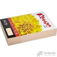 Бумага цветная для офисной техники Комус Color персик пастель (А4, 80 г/кв.м, 500 листов)