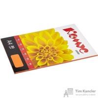 Бумага цветная для офисной техники Комус Color шафран интенсив (А4, 80 г/кв.м, 50 листов)