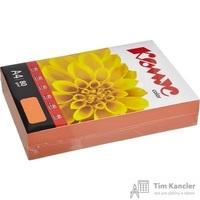 Бумага цветная для офисной техники Комус Color шафран интенсив (А4, 80 г/кв.м, 500 листов)