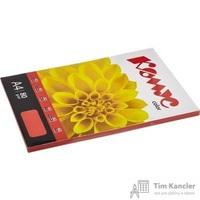 Бумага цветная для офисной техники Комус Color красная интенсив (А4, 80 г/кв.м, 100 листов)