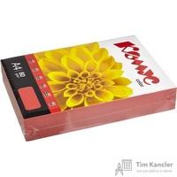 Бумага цветная для офисной техники Комус Color красная интенсив (А4, 80 г/кв.м, 500 листов)