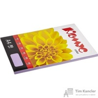 Бумага цветная для офисной техники Комус Color лиловая интенсив (А4, 80 г/кв.м, 100 листов)